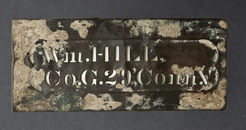 Image for Brass stencil for William Hill