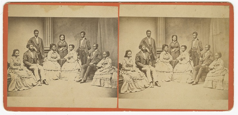 Image 1 for Jubilee Singers, Fisk University, Nashville, Tennessee