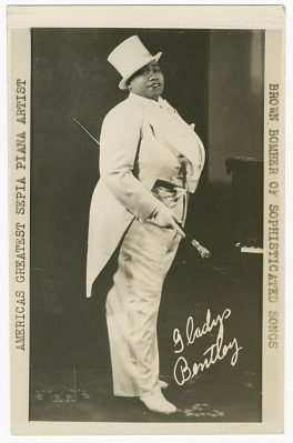 <I>Gladys Bentley: America's Greatest Sepia Player -- The Brown Bomber of Sophisticated Songs</I>