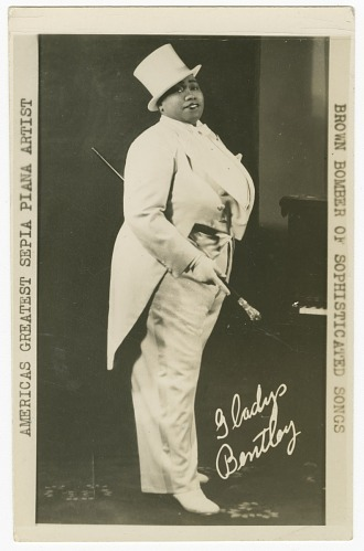 Image for Gladys Bentley: America's Greatest Sepia Player -- The Brown Bomber of Sophisticated Songs
