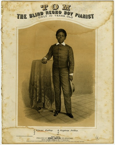 Image for Tom, The Blind Negro Boy Pianist, Only 10 Years Old