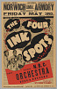 thumbnail for Image 2 - Poster for The Four Inkspots and the N.B.C. Orchestra