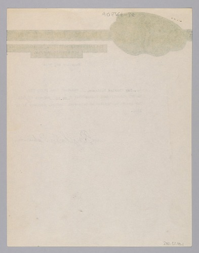 Image for Receipt for payment for a recording session signed by Ray Charles