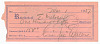 Thumbnail for Receipt signed by Fats Waller