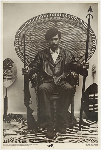 Image for Huey Newton, Black Panther Minister of Defense