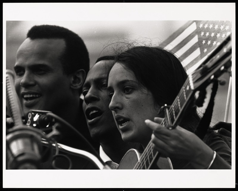 Image for Joan Baez, Selma to Montgomery March, 1965