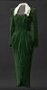 thumbnail for Image 1 - Green velvet dress worn by Lena Horne in the film Stormy Weather