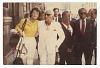Thumbnail for Photograph of James Baldwin standing with David Baldwin and Leonard Bernstein