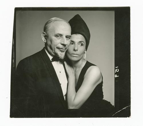 Image for Photograph of Lena Horne with husband Lennie Hayton