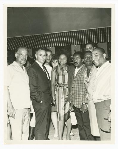 Image for Photograph of Marlon Brando and Beah Richards