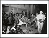 Image for Cambridge, Maryland. Clifford Vaughs, a SNCC Photographer is Arrested