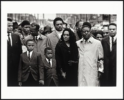 Martin Luther King, Jr. Funeral: King Family and Friends