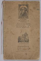 School copy book used by Hannah Amelia Lyons