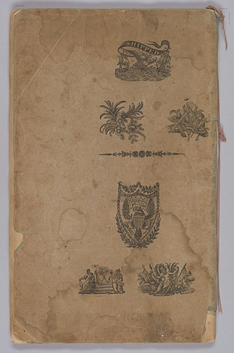 Image for School copy book used by Hannah Amelia Lyons