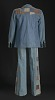 Thumbnail for Denim and suede suit jacket and bellbottoms worn by Charley Pride