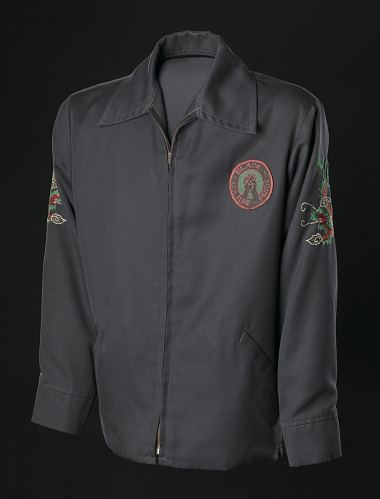 Image for Vietnam tour jacket with black power embroidery