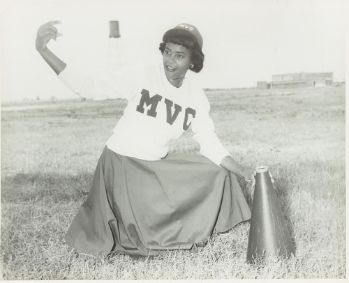 Image for Portrait of a Mississippi Vocational College cheerleader