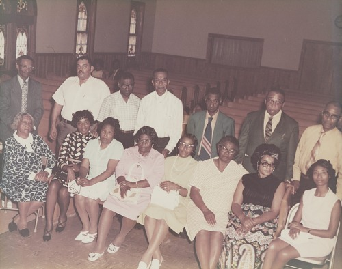 Image for Group portrait in a church