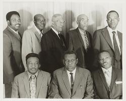 Group portrait of men