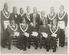 Thumbnail for Group portrait of men in Masonic costume