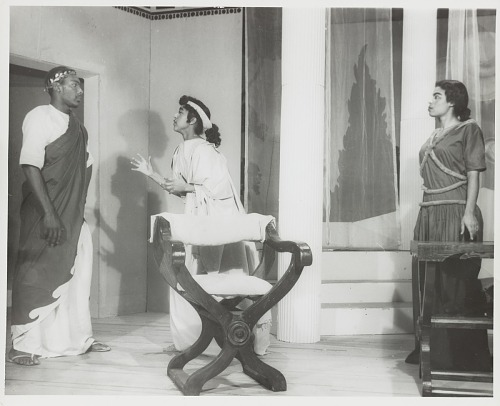 Image for Group portrait of a theater performance