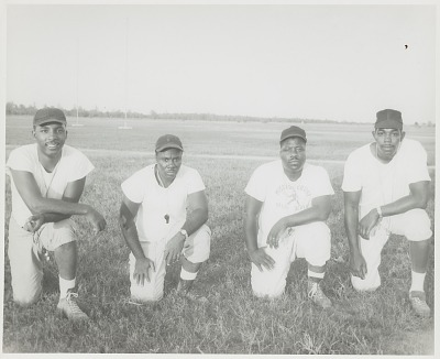 Group portrait of Mississippi Vocational College football coaches