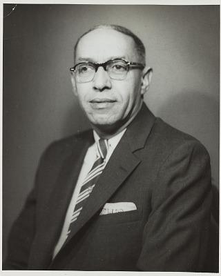 Studio portrait of J.H. White