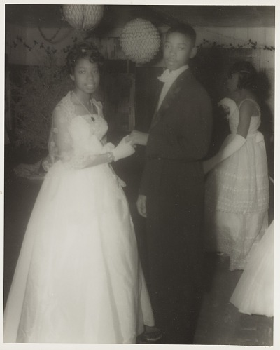 Image for Indoor portrait of a couple in formal dress