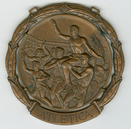 Image for 1960 Olympic Bronze Medal for Men's 400M Hurdles awarded to Dick Howard