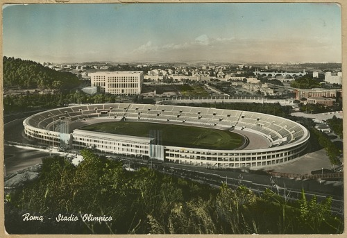 Image for Postcard of the Olympic Stadium in Rome owned by Dick Howard
