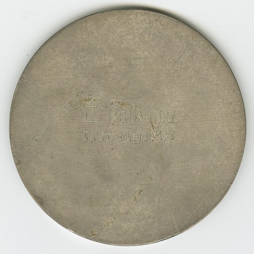 Image for 1959 Helsinki World Games Silver Medal, Men's 400M Hurdles won by Dick Howard