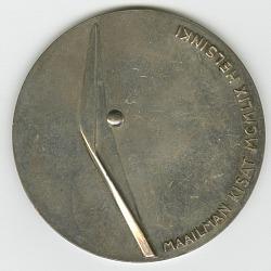1959 Helsinki World Games Silver Medal, Men's 400M Hurdles won by Dick Howard