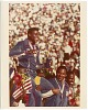 Thumbnail for Photograph of Carl Lewis with his fourth gold medal at the Los Angeles Olympics