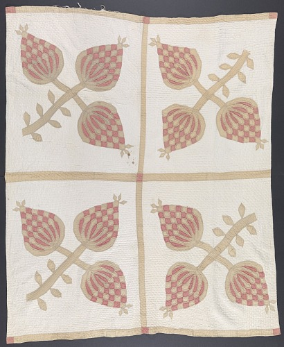 Image for Pineapple quilt gifted to Lucy Hardiman Roundtree from Lydia Hardiman