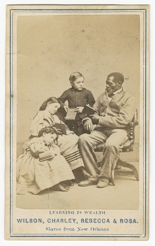 Image for Learning is Wealth: Wilson, Charley, Rebecca & Rosa, Slaves from New Orleans