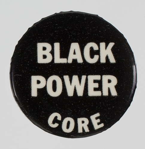 Image for Pin-back button for CORE and Black Power