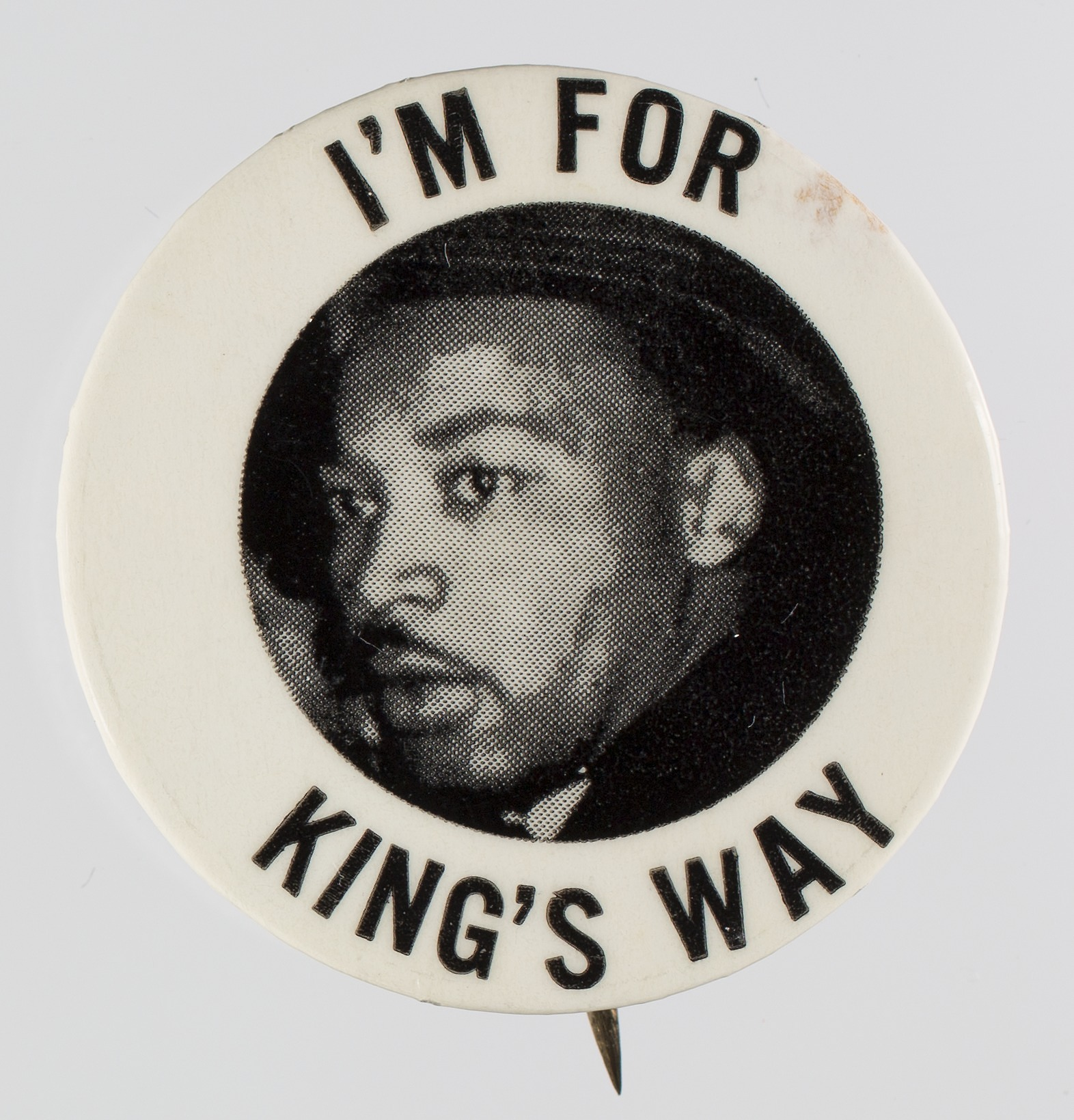 images for Pin-back button featuring Martin Luther King Jr.