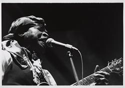 """Eddie """"Blues Man"""" Kirkland, 1989"""