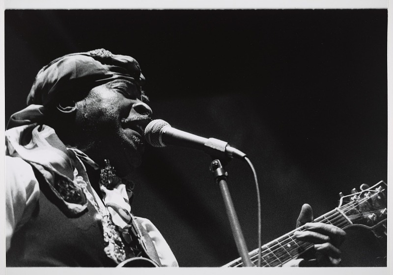 "Image for Eddie ""Blues Man"" Kirkland, 1989"