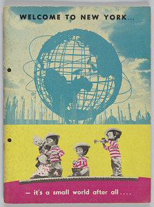 Image for Welcome to New York... - it's a small world after all….