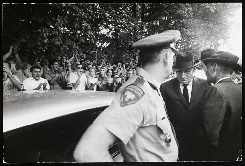 Image for Gov. Ross Barnett at University of Mississippi