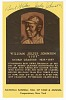 Thumbnail for Postcard of Judy Johnson Baseball Hall of Fame plaque