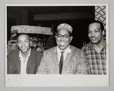 Photographic print of Dizzy Gillespie, from Perkins