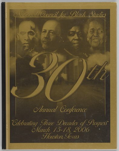 Image for National Council for Black Studies: Celebrating Three Decades of Progress