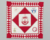 Thumbnail for Quilt with the Delta Sigma Theta logo
