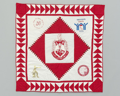 Image for Quilt with the Delta Sigma Theta logo