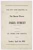 Thumbnail for Program for the Shearer Players' production of Angel Street