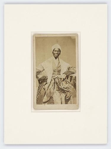 Image for Carte-de-visite of Sojourner Truth