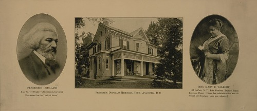 Image for Photographic souvenir of the Frederick Douglass Memorial Home in Anacostia, D.C.