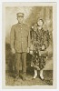 Thumbnail for Photographic postcard of Pullman Porter, Omer Ester and his wife Jean